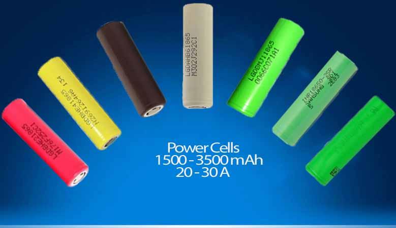 High Power Li-ion Cells